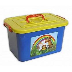 Ящик для игрушек Радуга, 15 л