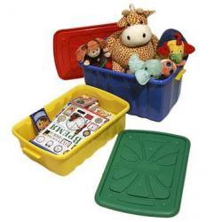 Ящик для игрушек, на колесах