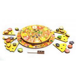 Развивающая доска Пицца, 54 элемента, 5 слоев