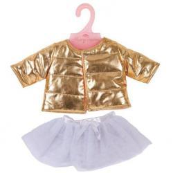 Одежда для куклы Куртка c юбкой, 38-43 см