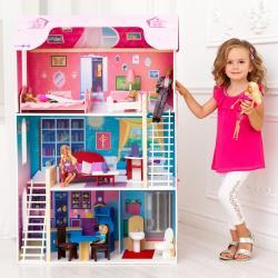 Кукольный домик для Барби Вдохновение