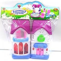 Домик для кукол В гостях у куклы с аксессуарами, PT-00498