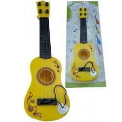 Гитара детская, цвет жёлтый