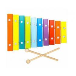 Ксилофон деревянный, 10 нот