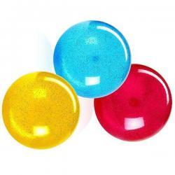 Перламутровый резиновый мяч с блестками, 23 см