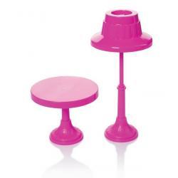Торшер и столик для кукол