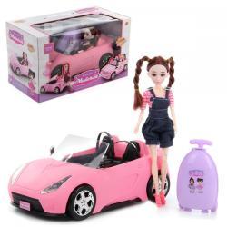 Кукла с машиной