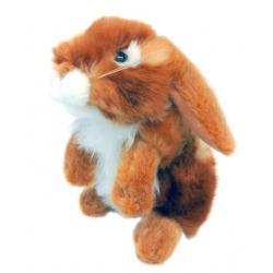 Мягкая игрушка Заяц Русак, 17 см