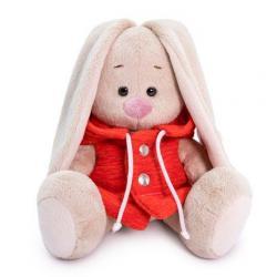 Мягкая игрушка Зайка Ми с жилетке с капюшоном (малыш), 15 см