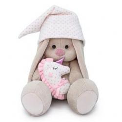 Мягкая игрушка Зайка Ми с подушкой