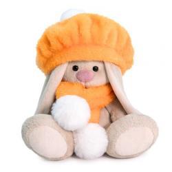 Мягкая игрушка Зайка Ми в оранжевом берете, 15 см (малыш)