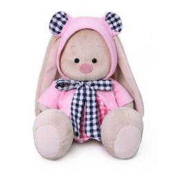 Мягкая игрушка Зайка Ми, в толстовке и платье, высота 18 см