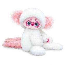 Мягкая игрушка Лори Юки, цвет белый, 25 см