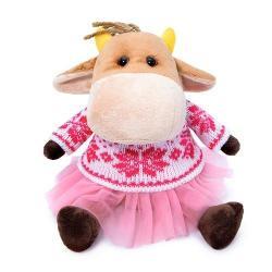 Мягкая игрушка Коровка Ганя Герефорд, 17 см
