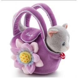 Котёнок в сумочке, 15 см