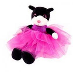 Мягкая игрушка Кошка в платье, 20 см