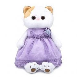Мягкая игрушка Ли-Ли в лавандовом платье, 24 см