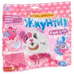 Плюшевая игрушка-антистресс Bondibon Жмунтик. Кошечка