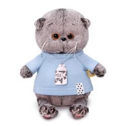 Мягкая игрушка Басик BABY, в голубой футболке
