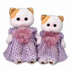 Мягкая игрушка Ли-Ли, в нежно-сиреневом платье, 27 см