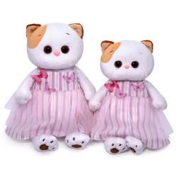 Мягкая игрушка Ли-Ли, в платье с бабочками, высота 24 см