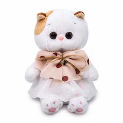 Мягкая игрушка Ли-Ли, в платье с бантом, 20 см