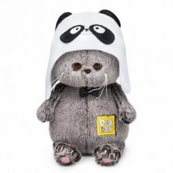 Мягкая игрушка Басик BABY в шапке - панда, 20 см