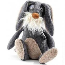 Мягкая игрушка Серый заяц