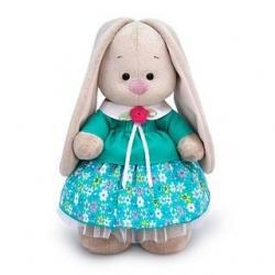 Мягкая игрушка Зайка Ми в бирюзовой курточке, 32 см