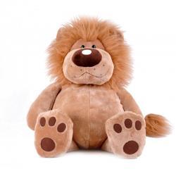 Мягкая игрушка Лев Лева, сидячий, 40 см