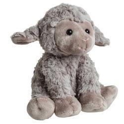 Мягкая игрушка Овечка серая, 35 см