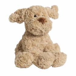 Мягкая игрушка Собака, светло-коричневый, 30 см