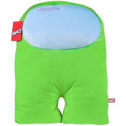 Подарочная мягкая игрушка Амонг Ас - Космонавт, зеленый, 38 см