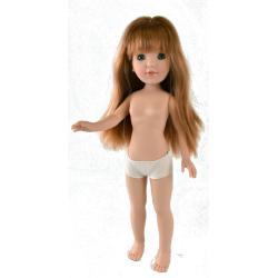 Кукла Пепа рыжеволосая, без одежды, 41 см