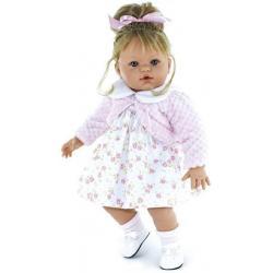 Кукла Сьюзи, в светлом платье и розовой кофточке, 47 см