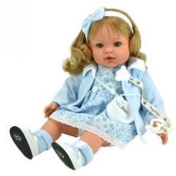 Кукла Сьюзи, в голубом платье и кофточке, 47 см