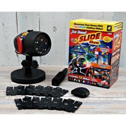 Лазерный проектор Slide Star Shower, 12 слайдов