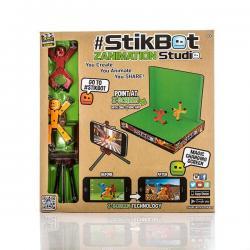 Игровой набор Анимационная студия Stikbot со сценой