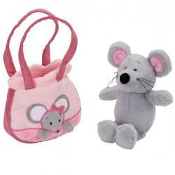 Мягкая игрушка Мышка, 19 см