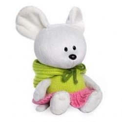 Мягкая игрушка Мышка Пшоня в платье с капюшоном, 15 см