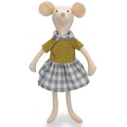 Игрушка мягкая Happy Baby Mrs. Mouse
