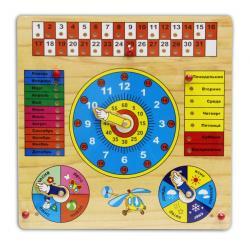 Деревянная игрушка Календарь