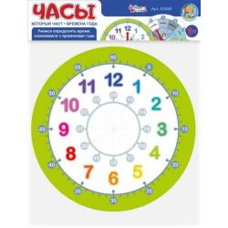 Игра настольная Часы. Который час. Времена года