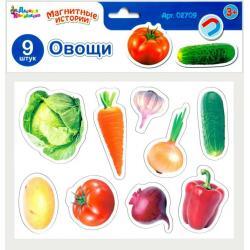 Магниты Магнитные истории. Овощи