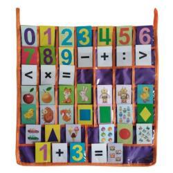 Касса букв, цифр, знаков Арифметические действия и сравнения