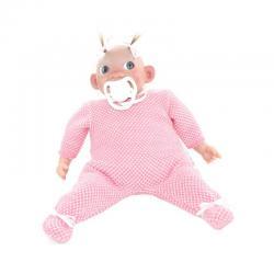 Пупс Каритас, новорожденная девочка, в розовой пижаме, 28 см
